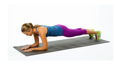 """Mỡ bụng """"tiêu tan"""" với chỉ 5 phút plank mỗi ngày"""